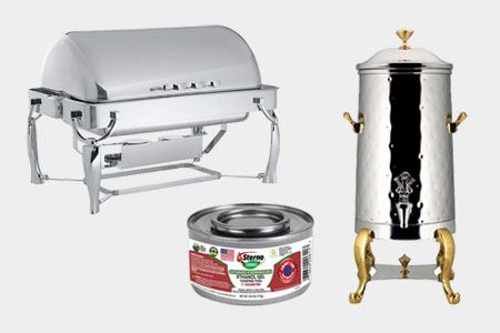 Chafing Dishes, Chafers, & Chafer Accessories