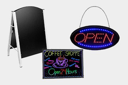 Restaurant Signs & Boards